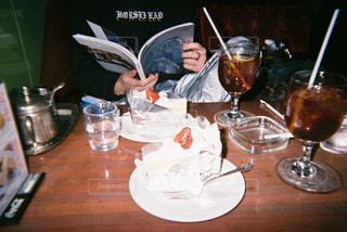喫茶店での一休みの写真・画像素材[1438059]