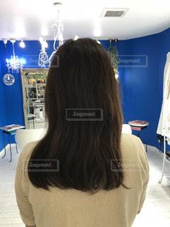 これから髪切ります。の写真・画像素材[1438253]