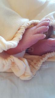 赤ちゃんの足の写真・画像素材[1438693]