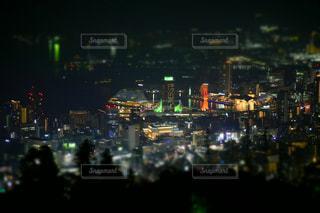 摩耶山からの夜景🌃の写真・画像素材[2118400]