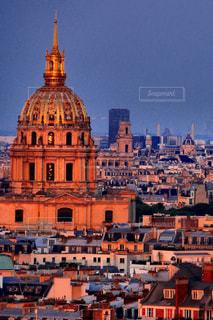 パリの夕焼けの写真・画像素材[1460276]