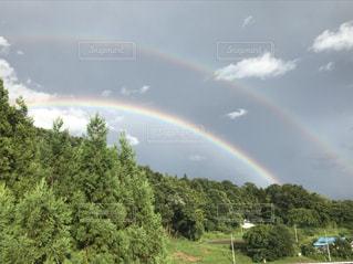 虹×2の写真・画像素材[1441320]