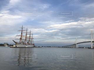 水体の大型船の写真・画像素材[1442058]