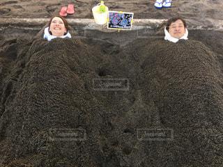 砂むし温泉の写真・画像素材[1442008]