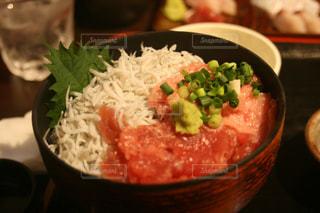 鎌倉 シラス海鮮丼の写真・画像素材[1443168]