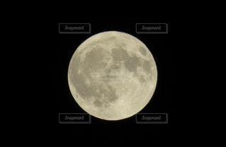 満月の夜(2018年8月26日)の写真・画像素材[1444394]