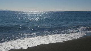 波打ち際の写真・画像素材[1444480]