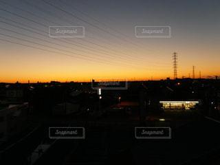 朝焼けの写真・画像素材[1444521]