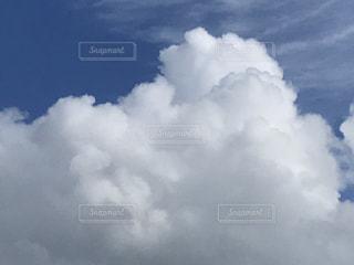 夏の終わりの雲の写真・画像素材[1444536]