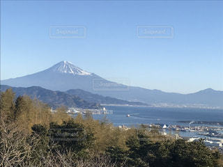 日本平からの富士山・冬の写真・画像素材[1736777]