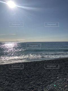 空と海と太陽との写真・画像素材[1736809]