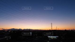 朝焼けグラデーションの写真・画像素材[2847013]