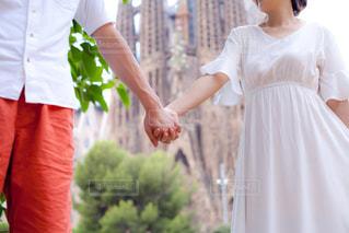 新婚旅行の写真・画像素材[1444553]
