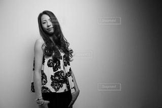 白黒撮影の写真・画像素材[1451397]