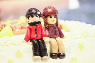想い出をケーキに…の写真・画像素材[1447410]