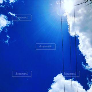北海道の見上げた空が好きなんですの写真・画像素材[1445224]