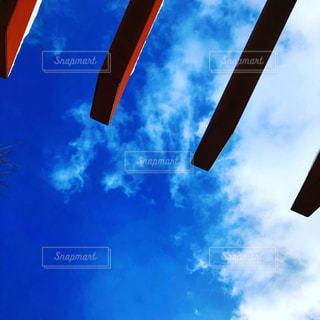 空には雲のグループの写真・画像素材[1446417]