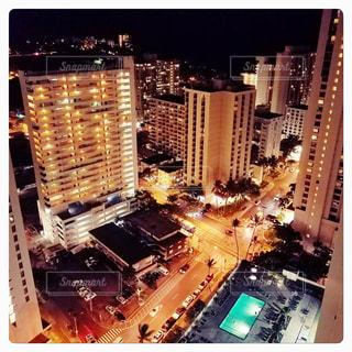 ハワイのホテルからの写真・画像素材[1446012]