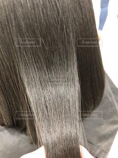 健康毛、バージンヘア、髪質改善後の髪です。広告などにおすすめです。の写真・画像素材[1843037]