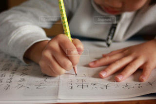 漢字の宿題の写真・画像素材[1467230]