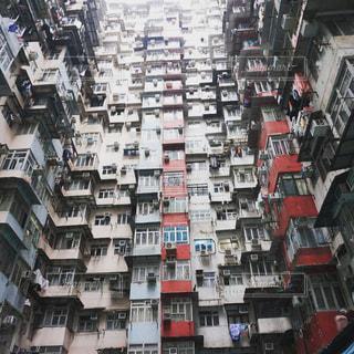 高層ビルの行の写真・画像素材[1446838]