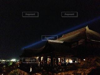 清水寺 ライトアップの写真・画像素材[1451286]