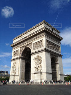 凱旋門(パリ)の写真・画像素材[1451302]