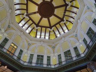 東京駅・丸の内駅舎 南北ドームの写真・画像素材[1454990]