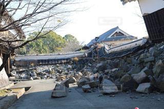 熊本地震の写真・画像素材[1476317]