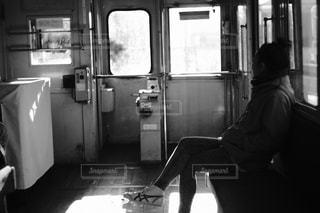 電車内の写真・画像素材[2840925]