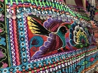 モン族刺繍のバッグの写真・画像素材[1455543]