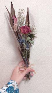 ドライフラワーの花束の写真・画像素材[2282331]