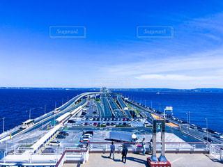 海ほたるからみた景色の写真・画像素材[1451951]