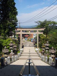 御岳神社の鳥居の写真・画像素材[1451954]
