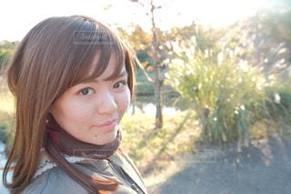クローズ アップの女の子の写真・画像素材[1609947]