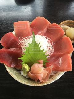 沼津のマグロ丼の写真・画像素材[1807681]