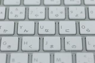 キーボードのアップの写真・画像素材[1491938]