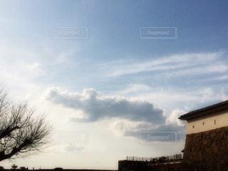 ワニみたいな雲の写真・画像素材[1492885]