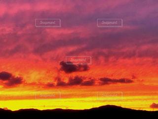 夕焼け空の写真・画像素材[1527870]