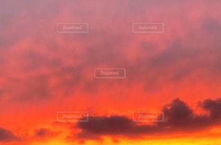 日没の前に雲の写真・画像素材[1544656]