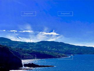 青色の風景の写真・画像素材[1611299]