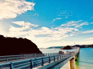 長い橋の写真・画像素材[1620832]