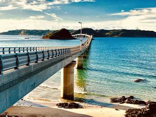 海を渡る橋の写真・画像素材[1620833]