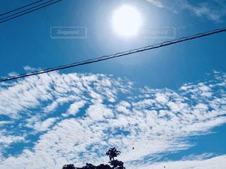 青空と雲の写真・画像素材[1634737]