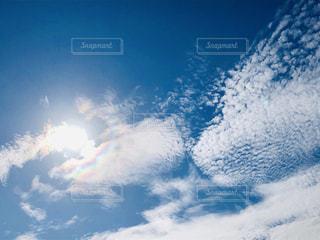 青空と雲の写真・画像素材[1634763]