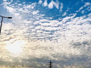 空一面の雲の写真・画像素材[1634788]