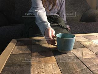 コーヒータイムのひとときの写真・画像素材[1639640]