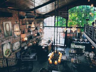 バリのおしゃれカフェの写真・画像素材[1454155]
