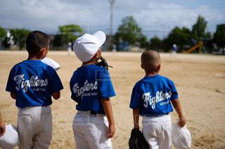 野球のゲームの若い男性のグループの写真・画像素材[1716241]