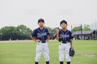 野球をしている子供たちの写真・画像素材[2322366]